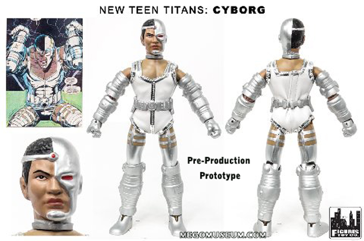 Mego Museum has exclusive first look at the cyborg prototype from Figures Toy Company